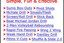 Basketball / Drills, etc. to help E & C with fundamentals / by Kristina Pardue