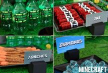 minecraft party / by Kimberly Langston