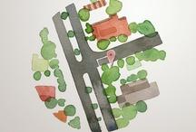 Cartographie / carte  / by agathe breton