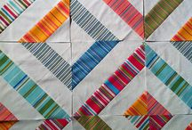 Striped fabric quilts / by jbm quilts