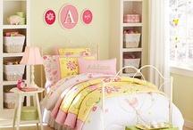 Girls' Room Ideas / by Hannah Gordon