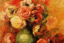 Artist: Pierre Auguste Renoir / by Art by Wietzie