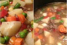 Recipes to try: Entrees: Soups / by Courtney Semrau
