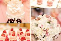 Babygirl Birthday party Ideas / by Karina Ibarra