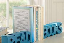 Unique Book Ends / by Salem-South Lyon District Library
