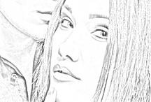 Sketch art interest / by Misti Leonard