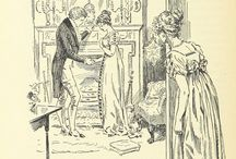 Vintage illustrations for Jane Austen's Novels / These 19th century drawings were recently released to the public domain by the British Library. Aren't they wonderful! / by Cara Elliott