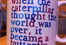My obsession with Coffee Cups / by Erin Houseman