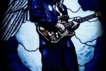 Stevie ray Vaughn  / by Frank Silva