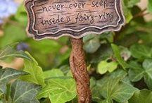 Garden - Fairy and Miniature Gardens / by Rayne Beaux