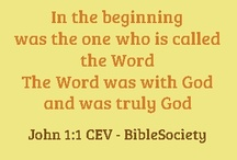 Gospel of John / verses of the #bible promises of #jesus / by Sociedad Biblica Chilena