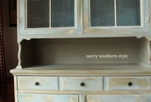 Furniture ideas and finishes / by Trini Pevey