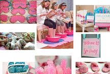 Girly spa party / by Donna Tafat