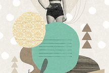Graphic Designy-ness, Illustration & Letterpress Love  / by Laura Bremner