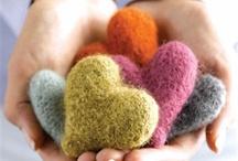 Crafting Felt Wool Fibre / by Lorrie Scott