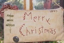 PRIMITIVE CHRISTMAS / by Pamela Scott