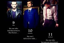 Things that make me think I need a Doctor / my Doctor Who board / by Janis Eva