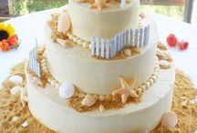 Beach Wedding Cakes / by Diane Castro