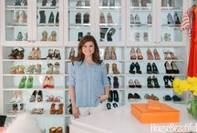 Tiffani Thiessen: Celebrity Dream Closet / Tiffani Thiessen's Closet is a dream come true. Check out the transformation brought to you by yours truly. / by California Closets
