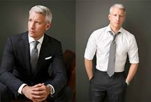 Silver F♂xes ♋ a pinch of salt-n-pepper, a touch of gray & sex appeal to bridge a generation gap! / These are the celebrities, models and icons that prove that a little age and experience just makes a man hawter than hawt! Of course Anderson Cooper is the leader of this pack as the current reigning UBER Silver Fox in my book!  / by Tim Stringfield