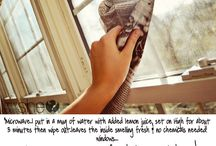 the cleaning fairy! / by Ashley Duesler
