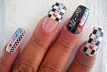 Nascar Nails / by Cheryl Bachman