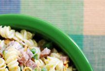 Pasta & Potato Salads / by Jacqueline Schueler-Santiago