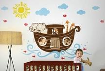 Home - Kid's Room / by Hillary Strubinger