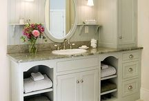 Bathroom makeover  / by Britney Encee