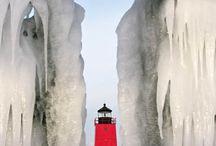 lighthouses / by Shannan Ellis