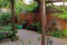 backyards / by Patricia Pruitt