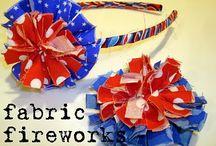 Fabric Flowers / by Kelly Mathews (Indiana Inker)
