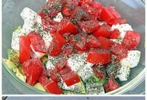 Paleo dips & salads.. / by Sandi Moore