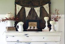 Mantel & Shelf Decorating / by Shelly Honn