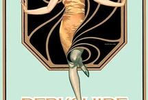 art nouveau/ art deco / eye candy by design / by Lisa Borucki