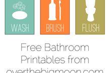 Bathroom essentials / by Joleen Tomberg
