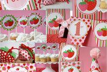 Strawberry Shortcake Birthday Party / by Rachel Whalen