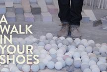 """A Walk In Your Shoes / Leon Shipp Belt and Angela Belt are the creators and producers of """"A Walk In Your Shoes"""", a video series that focuses on the work of creatives. / by AphroChic"""