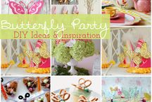 katelyn s butterfly birthday theme / by Johanne Thomas