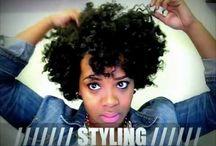HAIR!! / Hair ideas. Mostly natural hair / by Marie-Aimée Abizera