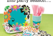 Spring into Party Season! / Spring Party Supplies for a spring fling! / by SmileMakers