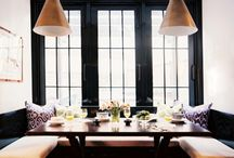 BANQUETTE LOVE / I've never met a banquette I didn't like. Well, almost never... / by Erica Reitman / VintageDesign.me