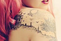 Tattoos, mine & some I want and like / by Francena Austin
