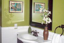 bathroom remodel / by Matt-Karla Dunham