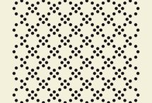 Pattern / tapisserie graphique / by Camille Gabarra
