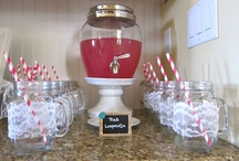 My friends wedding shower and bachelorette / by Paige Elliott