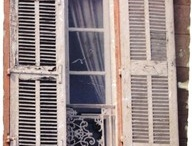 "French windows & architecture / by Christie Repasy Designs~ ""Chateau de Fleurs"""