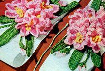 Crocheted Flowers / by Aura Lipinski