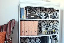 Office Space / Office decor ideas... some more extravagant than possible / by Ansley Brackin