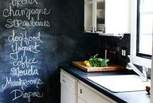 Chalkboard Walls / by Katrina Chambers